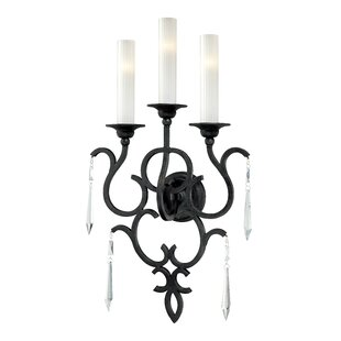 Savings Castellina 3-Light Candle Wall Light By Metropolitan by Minka