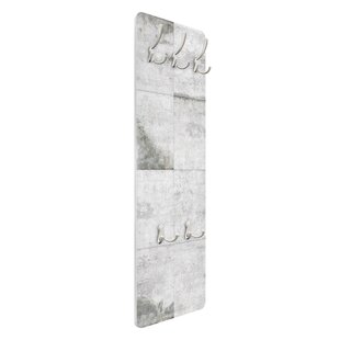 Large Concrete Slab Wall Mounted Coat Rack By Symple Stuff