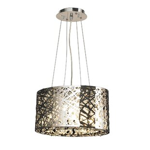 Orren Ellis Leite 5-Light Drum Chandelier