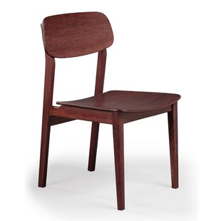 Currant Solid Wood Dining Chair (Set Of 2) by Greenington Best Choices