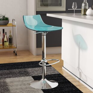 Elizabeth Street Adjustable Height Swivel Bar Stool Orren Ellis
