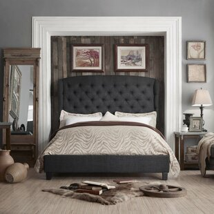 Affordable Leatham Queen Upholstered Wood Platform Bed by Three Posts Reviews (2019) & Buyer's Guide