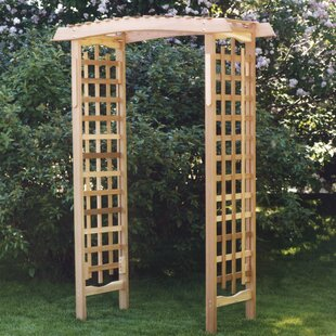 All Things Cedar Garden Wood Arbor