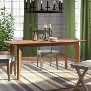Marlene Wood Dining Table Union Rustic
