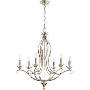 Lark Manor Harnois 6-Light Chandelier