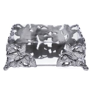Butterfly Luncheon Flat Napkin Holder