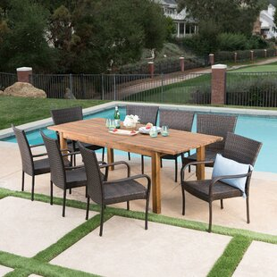 Union Rustic Mangus 9 Piece Extendable Dining Set