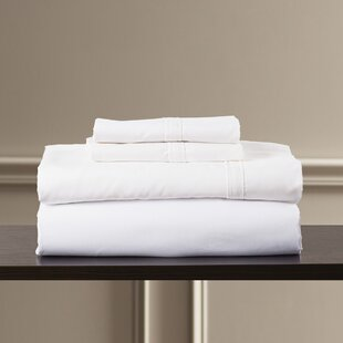 Bridger 300 Thread Count 100% Egyptian Quality Cotton Sheet Set by Eider & Ivory Great Reviews