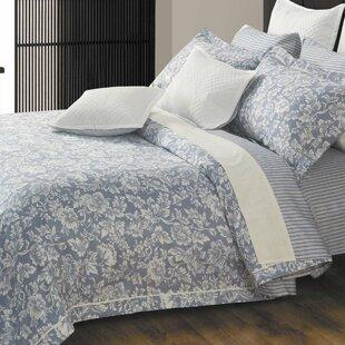 North Home Hampton 3 Piece 300 Thread Count 100% Cotton Sheet Set