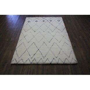 Looking for Twyman Contemporary Modern Design Shag Hand-Tufted White Area Rug ByBrayden Studio