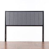 Pieper Metal Upholstered Panel Headboard by Wrought Studio™