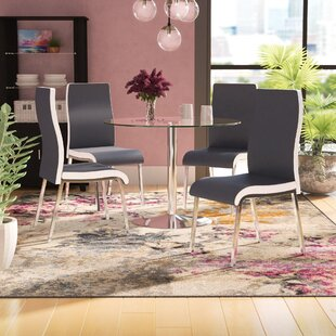 Salerno 5 Piece Dining Set Latitude Run