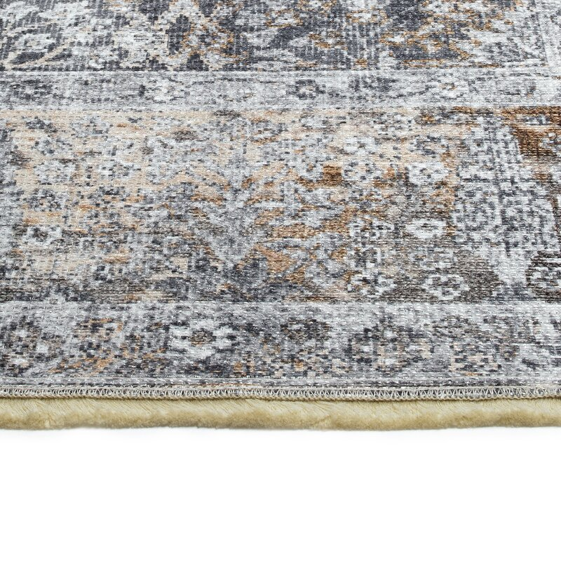 Bungalow Rose Albemarle Power Loom Gray Rug Wayfair