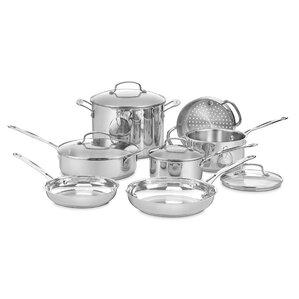 Cuisinart 11-Piece Chef's Classic Cookware Set