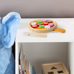 Pretend Pizza Play Food Set by Hey! Play!