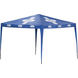 Ford 10 Ft. W x 10 Ft. D Steel Pop-Up Canopy