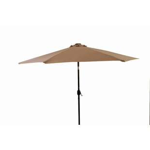 Trademark Innovations 10' Lighted Umbrella