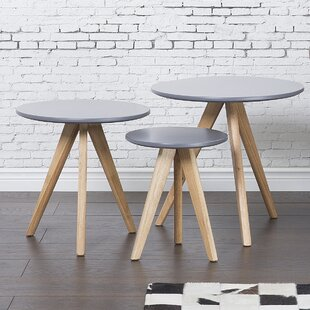 Home Loft Concepts Garra 3 Piece Coffee Table Set