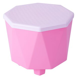 Plastic 2 in 1 Step Stool with Storage by Basicwise