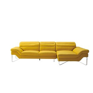 Coalpit Heath Upholstered Leather Sofa by Orren Ellis