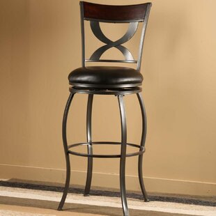 Stockport 26 Swivel Bar Stool with Cushion Hillsdale Furniture