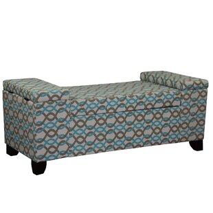 Viv + Rae Kromer Upholstered Storage Bench