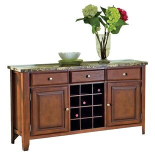 Lawhon Sideboard and Wine Rack by Millwood Pines