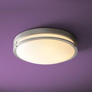 Oxygen Lighting Oracle 4-Light Flush Mount