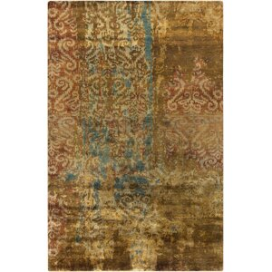 Beqal Gold Damasks Area Rug