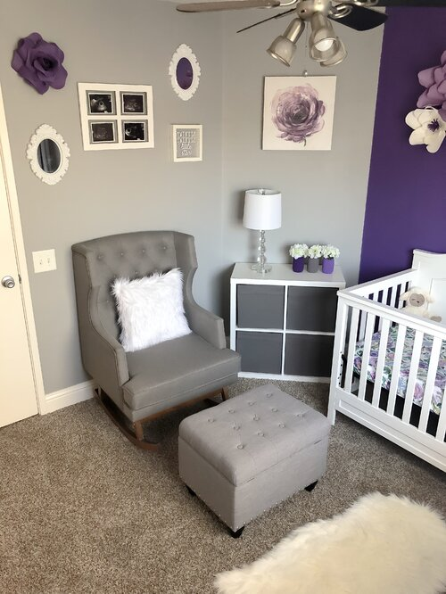 10 Purple Nursery Design Ideas Wayfair
