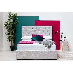 Keefer Double (4'6) Upholstered Ottoman Bed By Ebern Designs