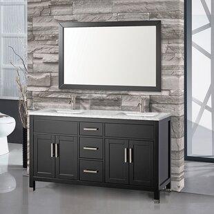 Denault 60 Double Bathroom Vanity Set by Brayden Studio