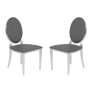 Ambrosius Contemporary Dining Side Chair (Set of 2) by Everly Quinn