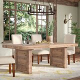 Abbey Solid Wood Dining Table by Mistana™