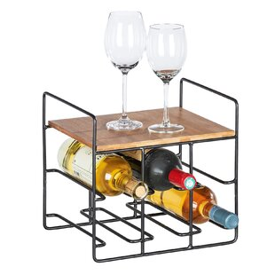 Essays 6 Bottle Wine Rack By Borough Wharf