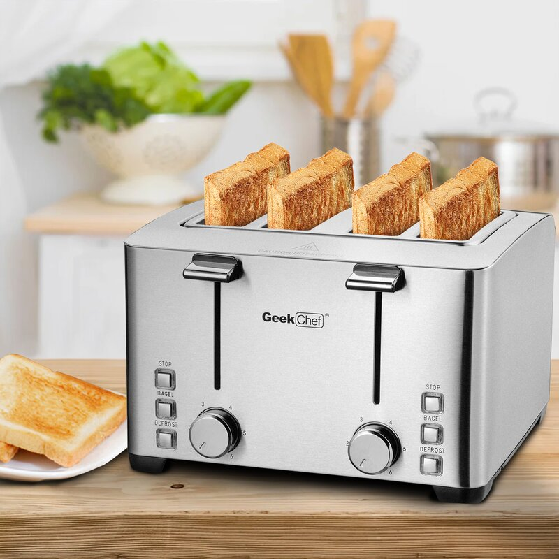 Setemi 4 Slice Toaster Wayfair