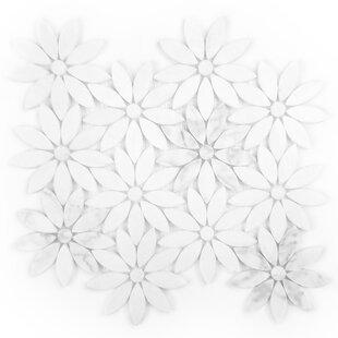 Tuscany Flower Marble Mosaic Tile