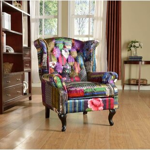 Lys Wingback Chair By Marlow Home Co.