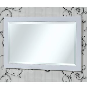 Rectangle Beveled Edged Wall Mirror