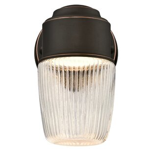Reviews Driggers LED Outdoor Wall Lantern By Breakwater Bay