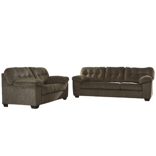 Latitude Run Mccreery 2 Piece Living Room Set
