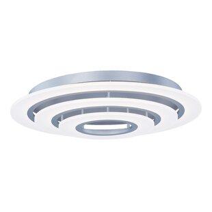 Orren Ellis Cassiopeia 3-Light LED Flush Mount