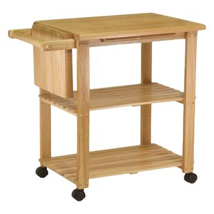 Calfee Kitchen Cart Winston Porter