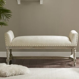 One Allium Way Toulouse Wagner Upholstered Bench
