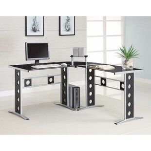 Compare prices Sengsone Captivating L Shape Computer Desk By Ebern Designs