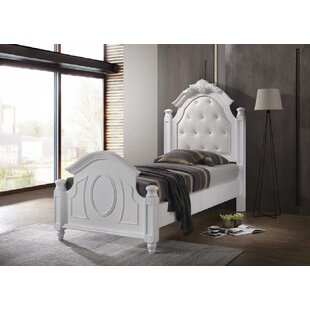 Eskew Upholstered Bed Frame By Fleur De Lis Living