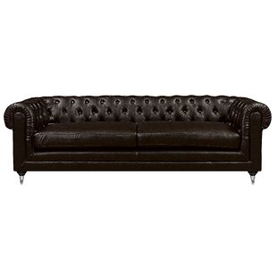 Amery Tufted Chesterfield Sofa by Elle Decor Read Reviews