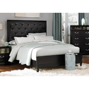Brooklane Upholstered Platform Bed by Rosdorf Park