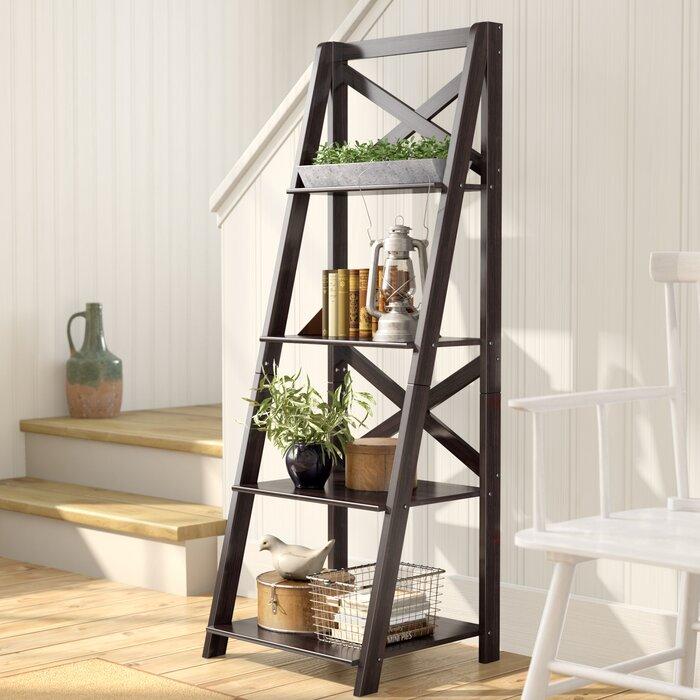 pretty nice ac73c 7e835 Kaitlyn Ladder Bookcase