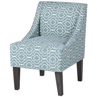 Andover Mills Deasia Trellis Slipper Chair